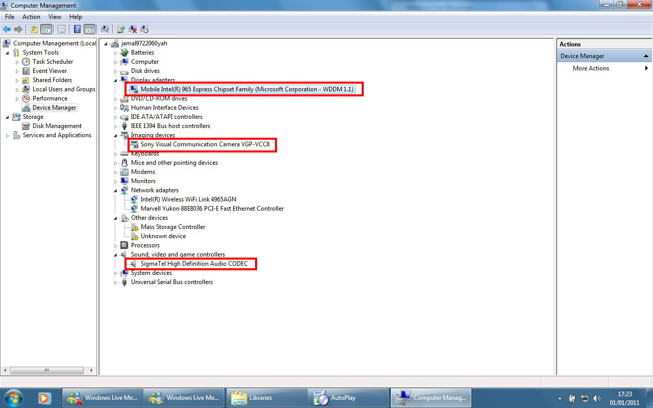 sony vaio pcg 71211w drivers download 64 bit